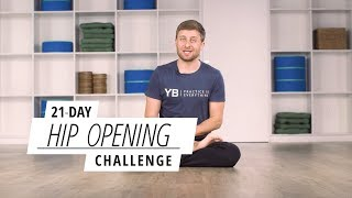 The YOGABODY 21-Day Hip Opening Challenge.