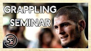 Khabib Grappling Training with English Subtitles