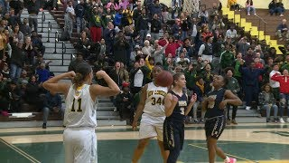 Highlights: New London 48, Newington 35 in Class LL quarter