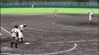 2018.9.15高校野球大阪桐蔭1年生西野力矢君満塁ホームランなど2発の公式戦デビュー