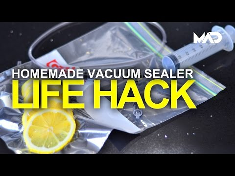 Build A Homemade Vacuum Sealer With Just A Few Dollars Worth Of Parts