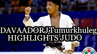 DAVAADORJ TUMURKHULEG (MGL) - HIGHLIGHTS JUDO [hD]