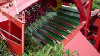 U Of S Haskap Day 2011 Joanna-3 Berry Harvester