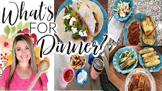 WHAT'S FOR DINNER | **HUGE** WHAT'S FOR DINNER PLAYLIST | | Cook Clean And Repeat