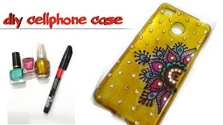 diy-mobile-case-decoration-craft-with-nailpolishpretty-phone-case-decorationbest-out-of-waste-art-9
