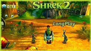 Shrek 2 - Longplay Co-op 4 Players Full Game Walkthrough (No Commentary)
