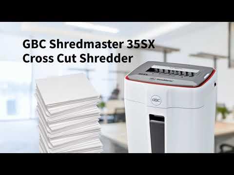 GBC Cross Cut Shredder ShredMaster 35 SX