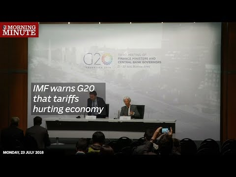 IMF warns G20 that tariffs hurting economy