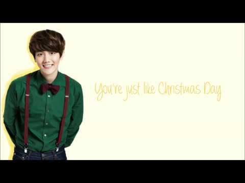 Exo   christmas day  korean version   color coded hangul rom eng lyrics