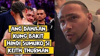 Keith Thurman   Ang Istorya sa hindi niya PAG SUKO sa laban kay Manny Pacquiao