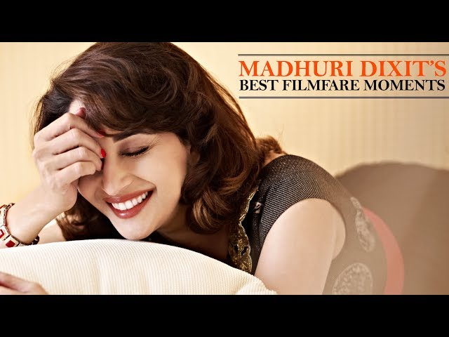 Madhuri Dixit S Best Filmfare Moments Birthday Special Archives