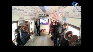 В Новгородскую область прибыл поезд-музей Октябрьской железной дороги