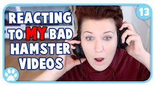 Reacting To My Own Bad Hamster Care! || 1000th Video Special