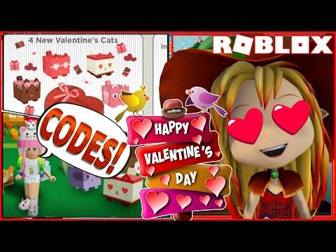 Roblox Gameplay My Cat Box Happy Valentine S Day 2 Codes And Getting The Valentine Kitty Steemit