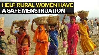 Goonj has been working on menstrual hygiene for more than a decade