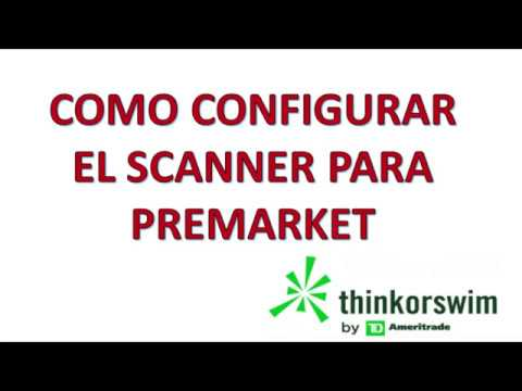 Download Pre Market Scanner Made Simple Think Or Swim Video 3GP Mp4