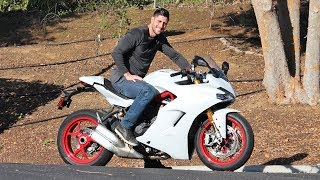 2020 Ducati Supersport S First Ride & Review!!!