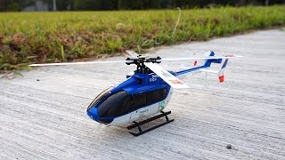 XK K124 Brushless EC145 Scale Helicopter - 6G & 3D Modes Test Flight (with Comments)