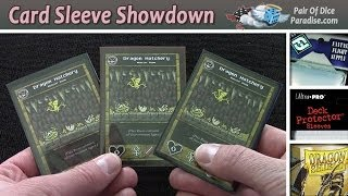 Card Sleeve Review: Fantasy Flight vs. Ultra Pro vs. Dragon Shield