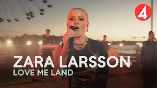 Zara Larsson - Love Me Land - 4K (Late Night Concert) - TV4
