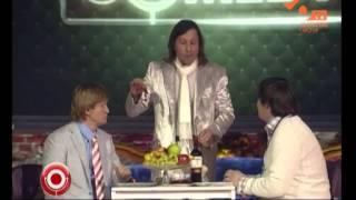 """Comedy Club на НЛО tv  - Муж с женой в кафе """"Лебедь"""""""