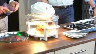 Rosenstein & Söhne Kompakt-Halogen-Konvektionsofen HO-317, 800 W