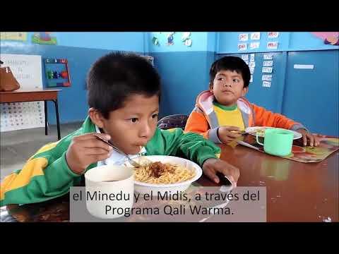 Menores de Sechura implementan huerto escolar como espacio de aprendizaje para una alimentación saludable