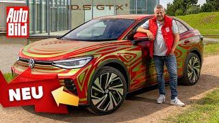 VW ID.5 GTX (2021) |Erste Fahrt im noch getarnten ID.5 | Prototypen-Fahrt mit Andreas May