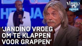 'Jandino vroeg publiek Voetbalgala om te klappen voor z'n grappen'   VERONICA INSIDE