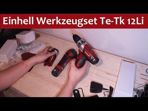 Einhell Werkzeug Set TE-TK 12 Li - Unboxing