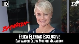 Erika Eleniak Exclusive - Baywatch Slow Mo Marathon