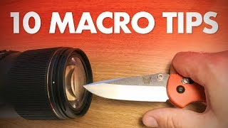 My 10 Best Macro Photography Tips for Beginners - Video Youtube