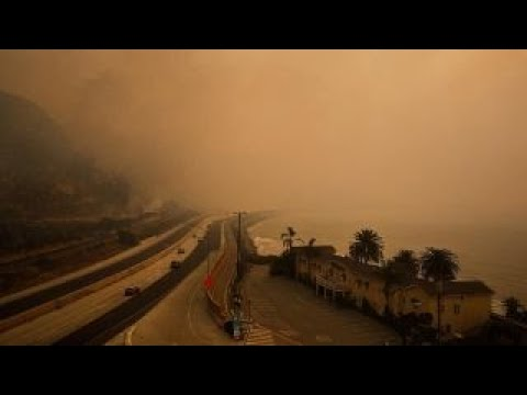 Air quality continues to worsen as fires ravage California