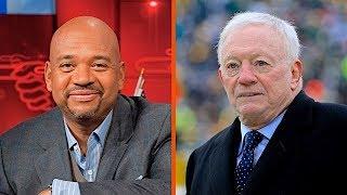 "ESPN's Michael Wilbon Calls Out Jerry Jones for His ""Plantation Mentality"" | The Dan Patrick Show | Kholo.pk"