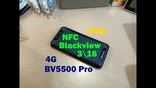 Смартфон Blackview BV5500 Pro 3/16GB Black от компании Cthp - видео 3