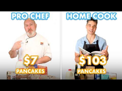 $103 vs $7 Pancakes: Pro Chef & Home Cook Swap Ingredients   Epicurious