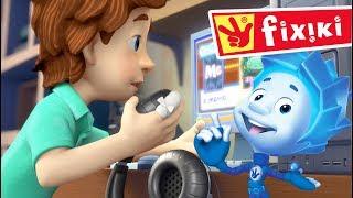 FIXIKI - Microfonul (Ep.50) Desene animate educative pentru copii