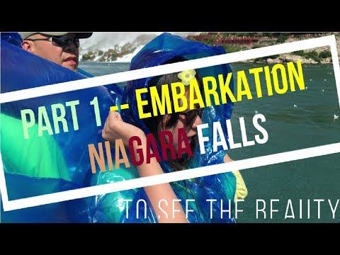 EMBARKATION to see the beauty of NIAGARA falls Part 1
