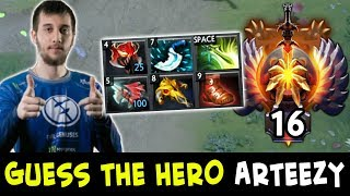 Guess the hero — WTF Arteezy edition
