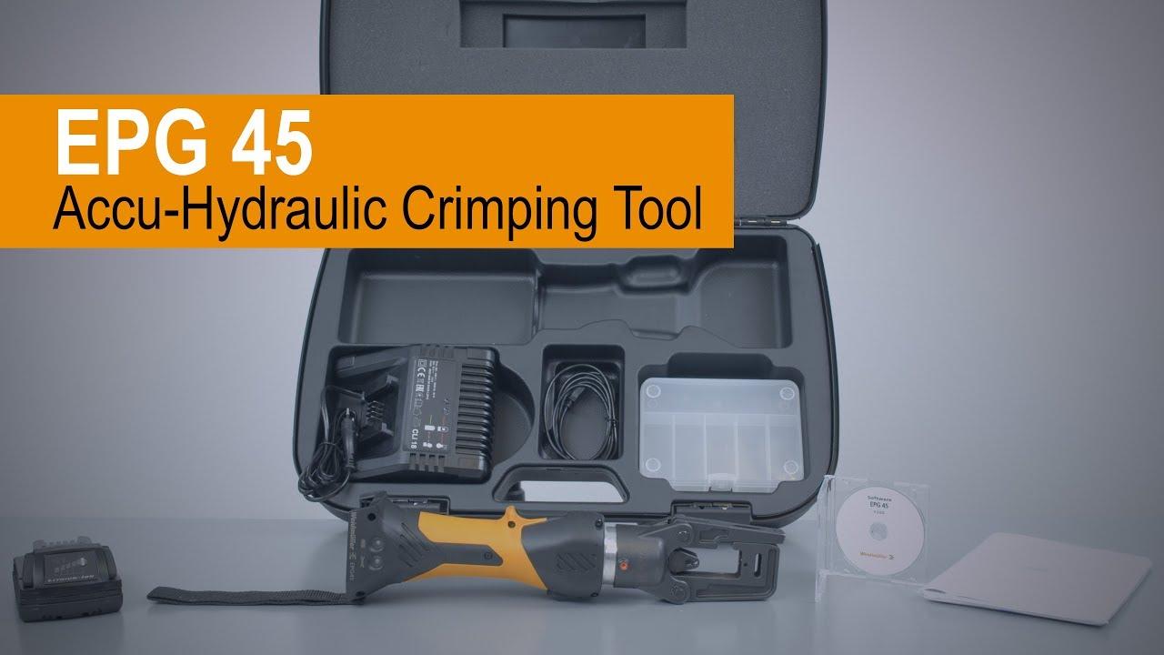 Handling videos crimping tools