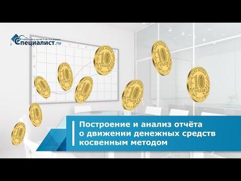 Построение и анализ отчёта о движении денежных средств косвенным методом