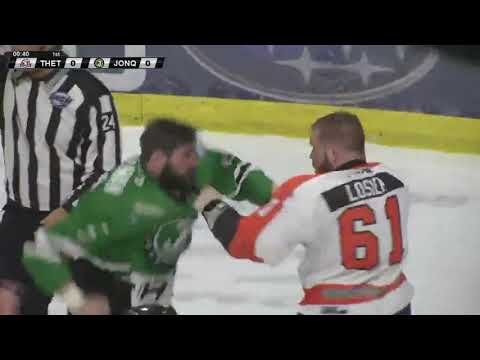Ryan Sullivan vs. Christophe Losier