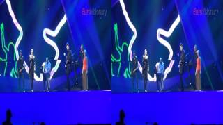 Compact Disco -- The Sound Of Our Hearts - 3D - Eurovision Song Contest - Hungary 2012 - Final