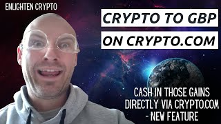 How To Withdraw Crypto Into Pounds/Euros (Fiat Money) On Crypto.com App - New Update 2021