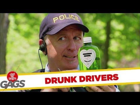 אם שותים לא נוהגים - מתיחה מצחיקה!