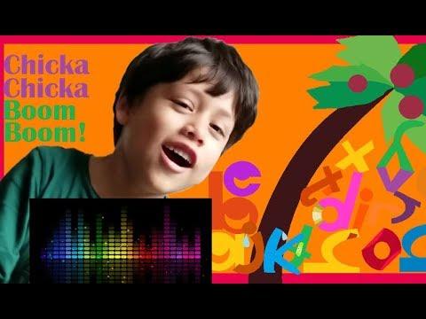 Chicka Chicka Boom Boom Nicky sings