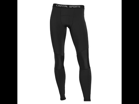 CAPITAL SPORTS PANTALONI A COMPRESSIONE DA UOMO