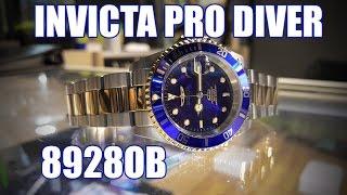 Invicta Pro Diver 8928OB - Review, Measurements, Lume
