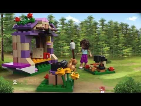 Vidéo LEGO Friends 41031 : Le refuge de montagne d'Andréa