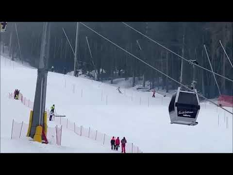 第19回冬季デフリンピック競技大会(イタリア) アルペンスキー回転の様子